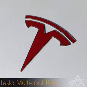 Bilde av Logo folie Tesla Model 3 (Foran og bak)
